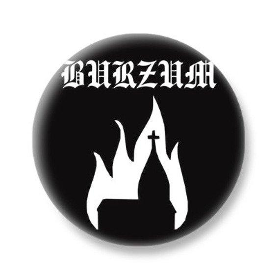 kapsel BURZUM - BURNING CHURCH