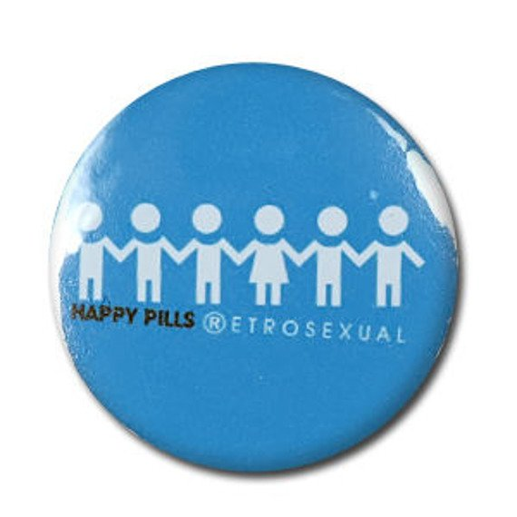kapsel HAPPY PILS - RETROSEXUAL blue