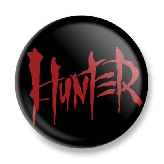 kapsel HUNTER - LOGO red