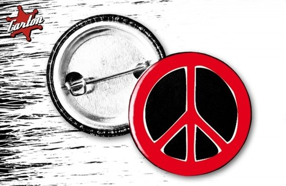 kapsel INDIOS BRAVOS - PEACE red