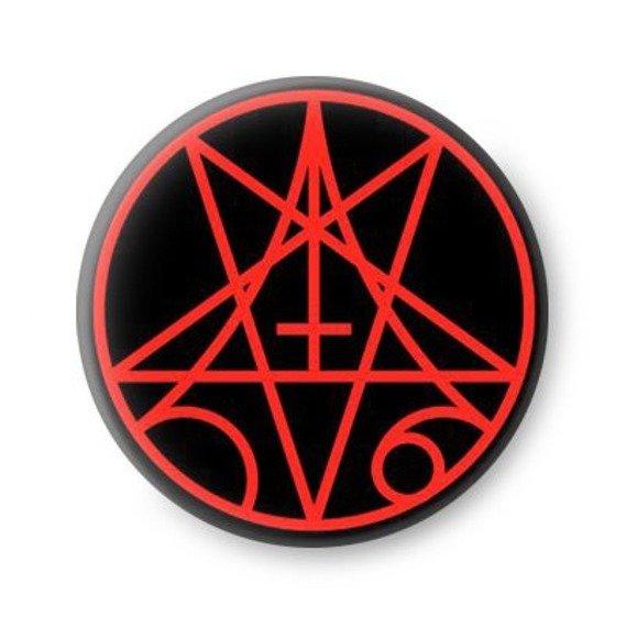 kapsel MORBID ANGEL - PENTAGRAM RED