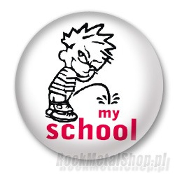 kapsel MY SCHOOL Ø25mm