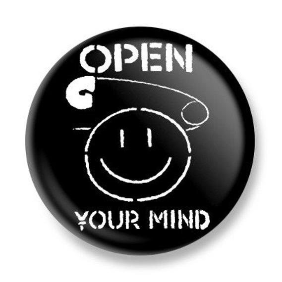 kapsel OPEN YOUR MIND Ø25mm