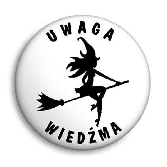 kapsel UWAGA WIEDŹMA Ø25mm