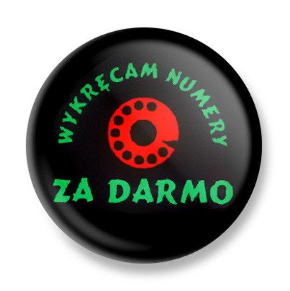kapsel WYKRĘCAM NUMERY ZA DARMO Ø25mm