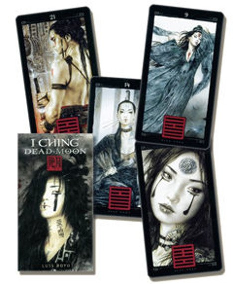 karty do tarota LUIS ROYO -  I CHING DEAD MOON
