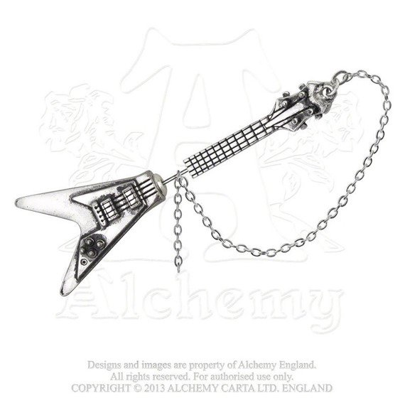 kolczyk SHREDDER'S AXE - FAUX PIERCING