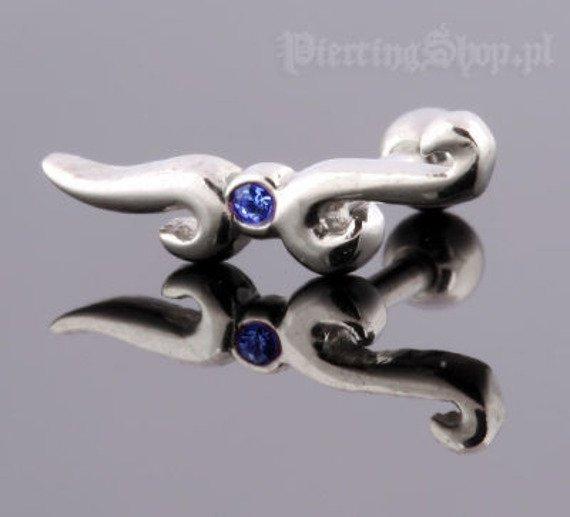 kolczyk piercing do ucha UPPER EAR TRIBAL [TIP-38]