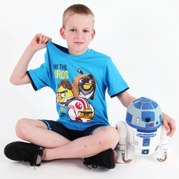 komplet dla chłopca ANGRY BIRDS STAR WARS - MAY THE BIRDS BE WITH YOU