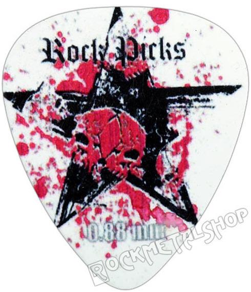 kostka gitarowa ROCK PICK - BLACK STAR