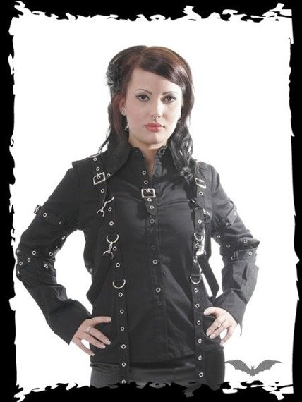 koszula damska QUEEN OF DARKNESS (BLACK)