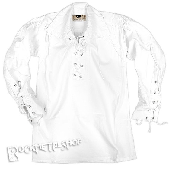 koszula dziecięca GOTYCKA biała