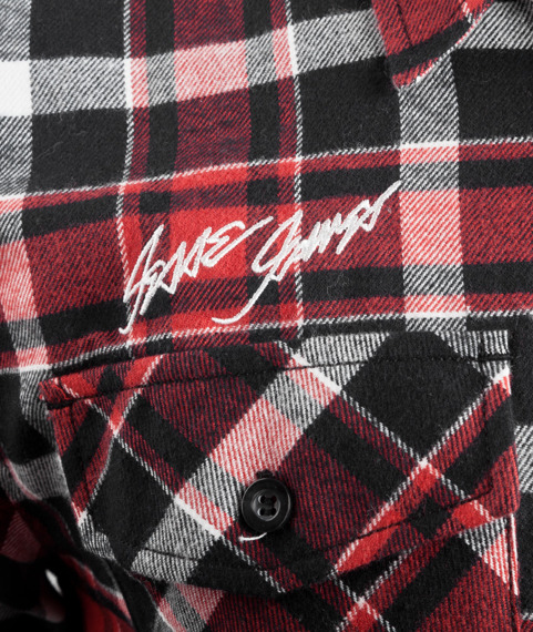 koszula flanelowa WEST COAST CHOPPERS - FINNLEY RED