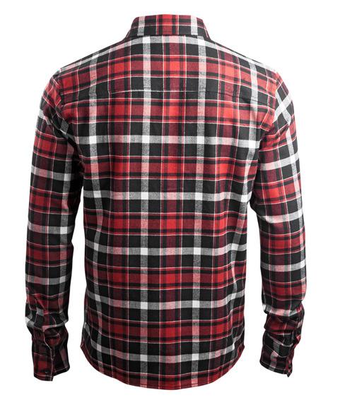 koszula flanelowa WEST COAST CHOPPERS - FINNLEY RED