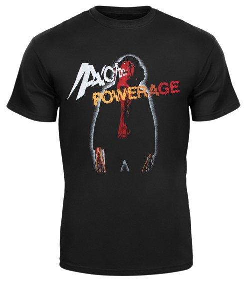 koszulka  AC/DC - HIGH VOLTAGE barwiona