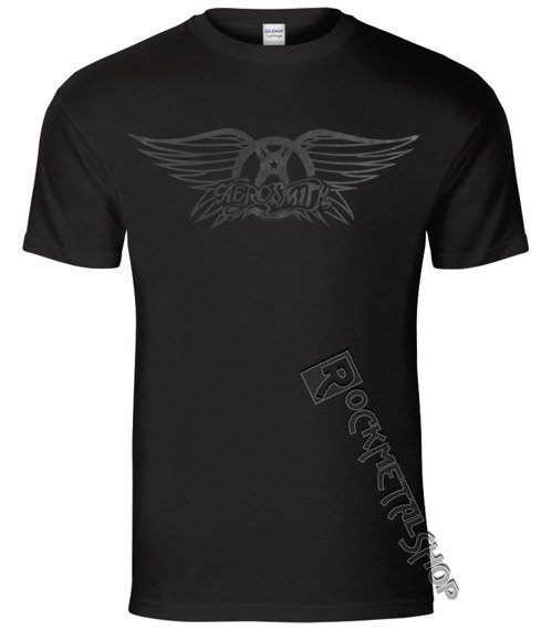 koszulka AEROSMITH - BLACK ON BLACK