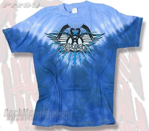 koszulka AEROSMITH - LOGO barwiona