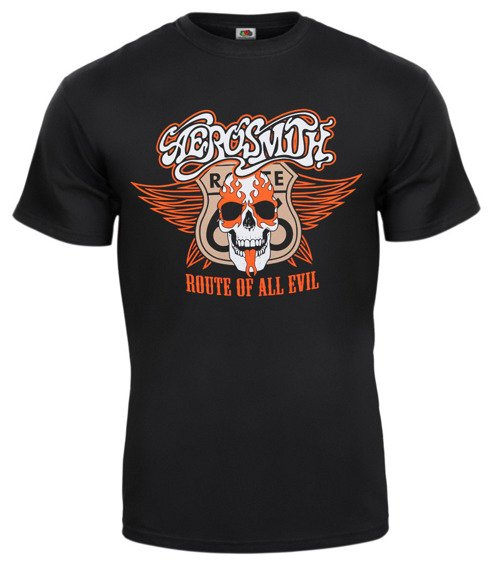 koszulka AEROSMITH - ROUTE OF ALL EVIL