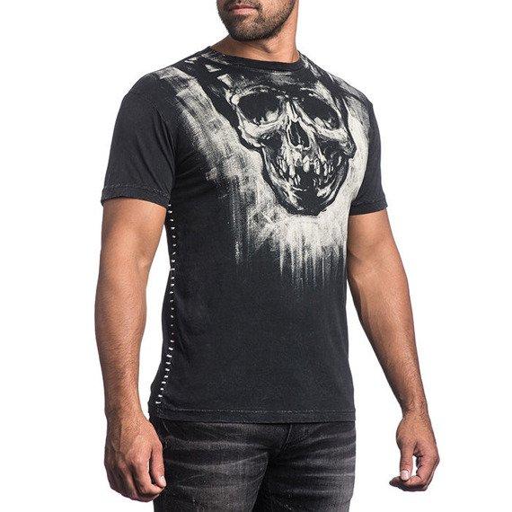 koszulka AFFLICTION - ACRYLIC, barwiona