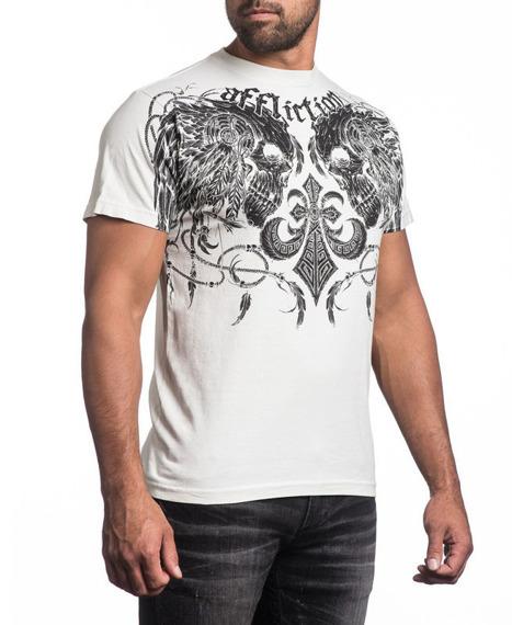 koszulka AFFLICTION - SANTEE WARRIOR