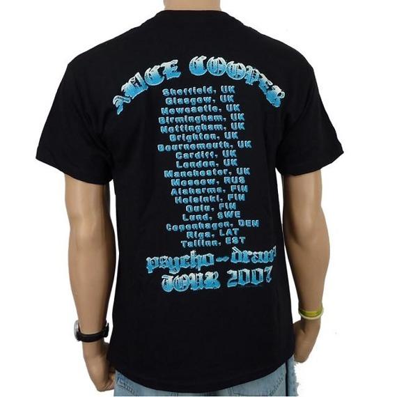 koszulka ALICE COOPER - CROSSBONES
