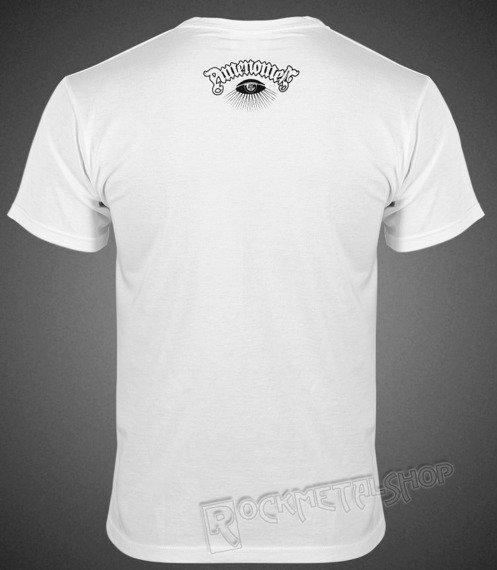 koszulka AMENOMEN - HEAD CAT (OMEN029KM WHITE)