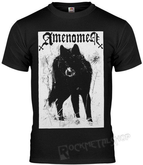 koszulka AMENOMEN - SNOW WOLF (OMEN037KM BLACK)