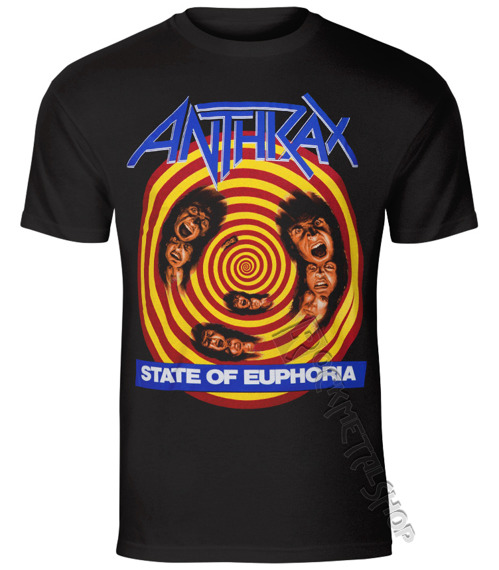 koszulka ANTHRAX - STATE OF EUPHORIA