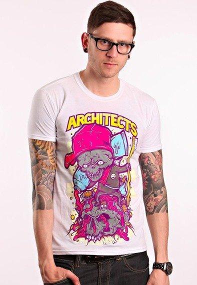 koszulka ARCHITECTS - TOOTH BRUSH WHITE