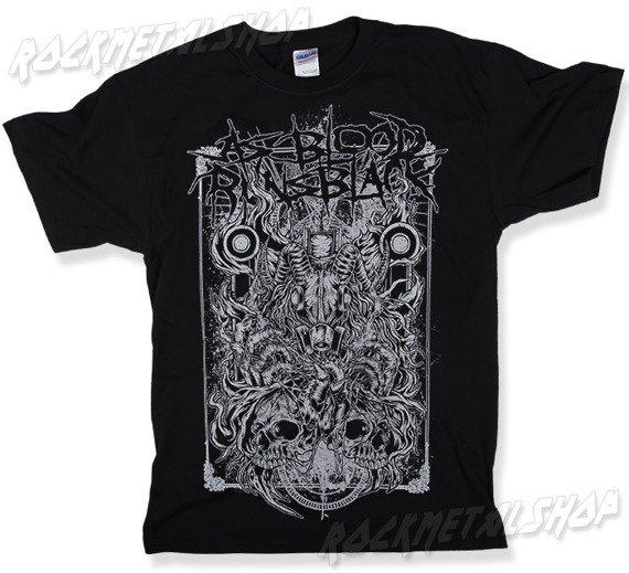 koszulka AS BLOOD RUNS BLACK  - DAMNATION