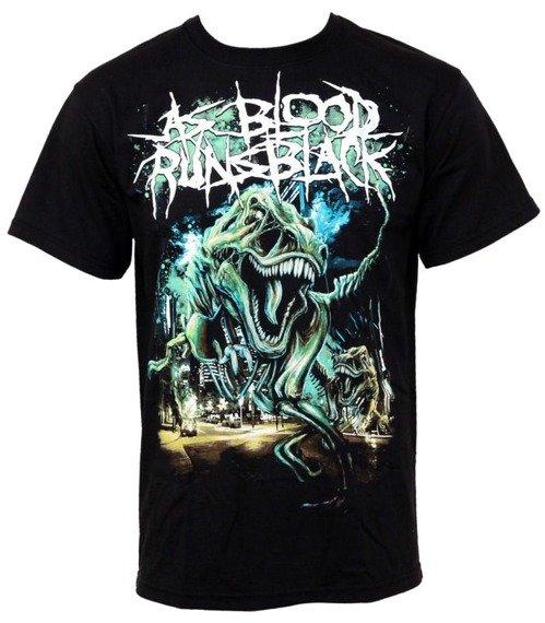 koszulka AS BLOOD RUNS BLACK  - T REX