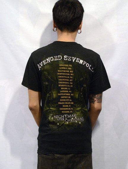 koszulka AVENGED SEVENFOLD - BLING RAGE LIMITED TOUR LIMITED TOUR 2011
