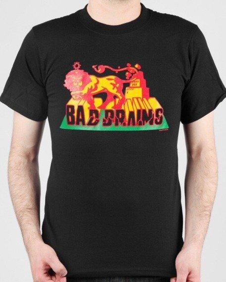 koszulka BAD BRAINS - RASTA LION