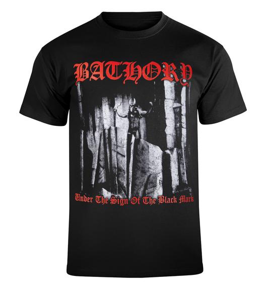 koszulka BATHORY - UNDER THE SIGN OF THE BLACK MARK