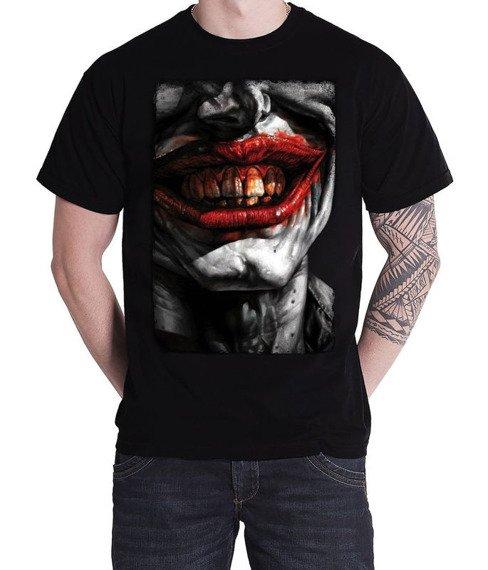 koszulka BATMAN - JOKER czarna