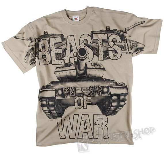 koszulka BEASTS OF WAR