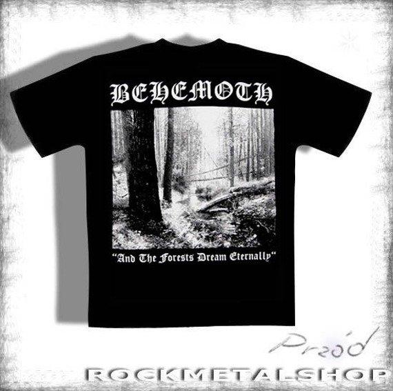koszulka BEHEMOTH - AND THE FORESTS