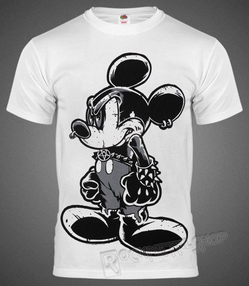 koszulka BLACK ICON - MOUSE (MICON141 WHITE)