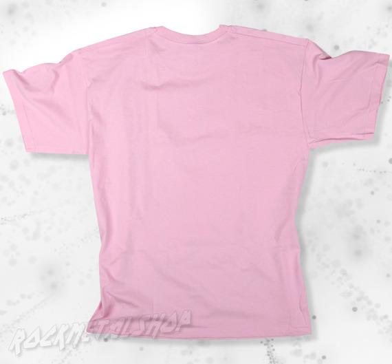 koszulka BLACK ICON - ROCK'N'ROLL IS DEAD pink (MICON107PNK)