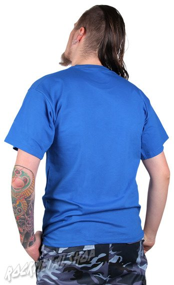 koszulka BLACK ICON - SCREAM OF THE MUMMY błękitna (MICON046BLU)