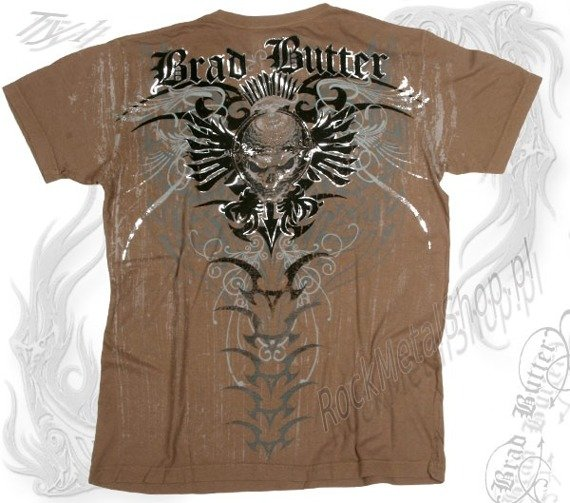 koszulka BRAD BUTTER (OATMEAL) (BB1290)