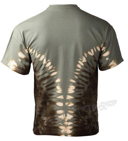 koszulka BULL SKULL barwiona