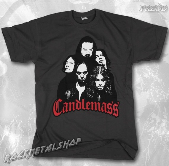 koszulka CANDLEMASS - BAND szara