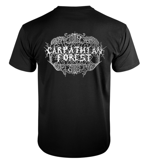 koszulka CARPATHIAN FOREST - BLACK SHINING LEATHER