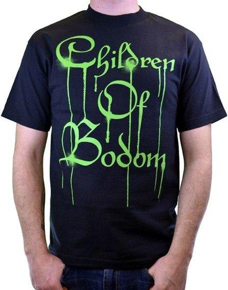 koszulka CHILDREN OF BODOM - GREEN DRIPPING LOGO