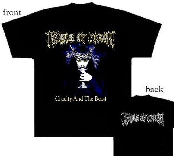 koszulka CRADLE OF FILTH - CRUELTY AND THE BEAST