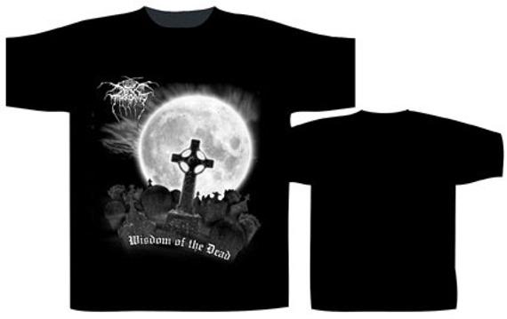 koszulka  DARKTHRONE - WISDOM OF THE DEAD