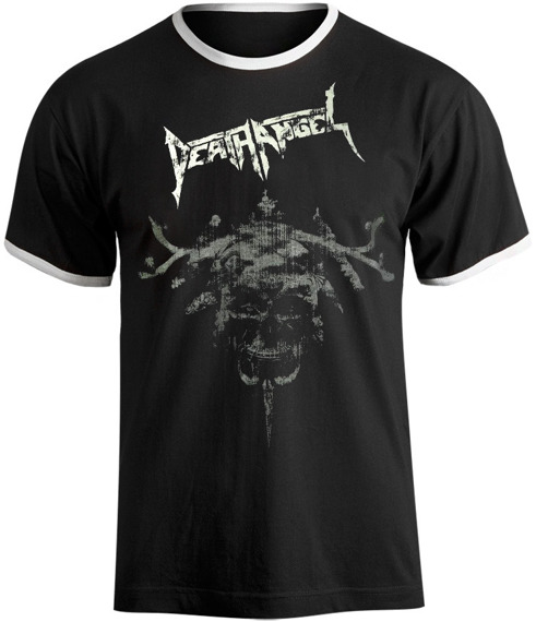koszulka DEATH ANGEL biała lamówka