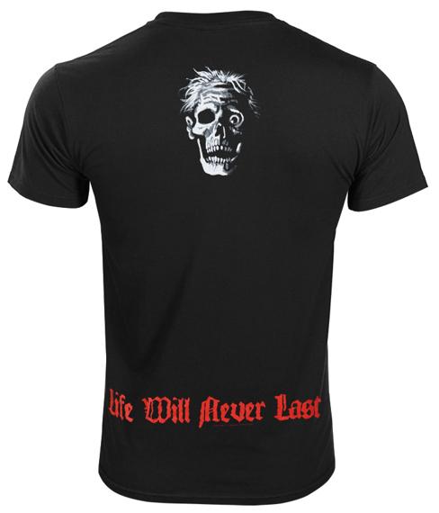 koszulka DEATH - LIFE WILL NEVER LAST