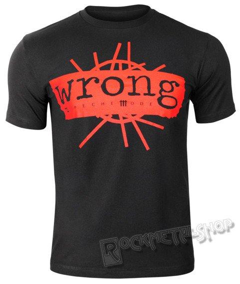 koszulka DEPECHE MODE - WRONG